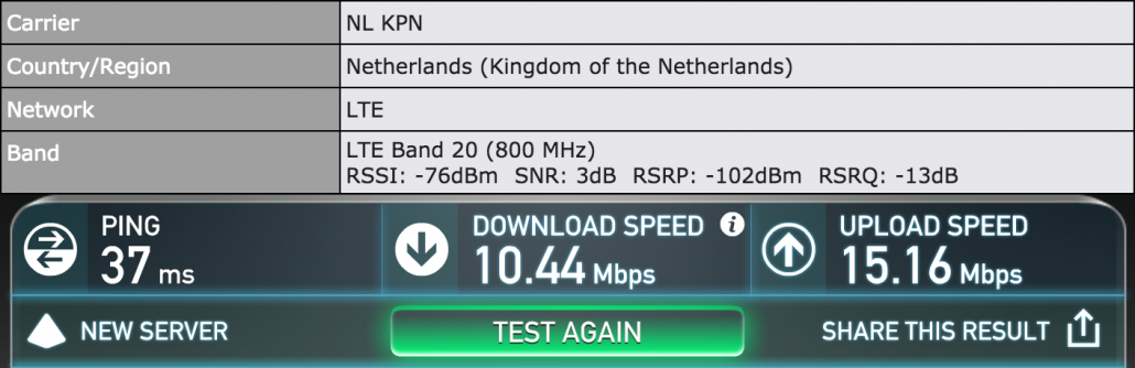 pepwave max br1 with kpn 4g lte setup #2